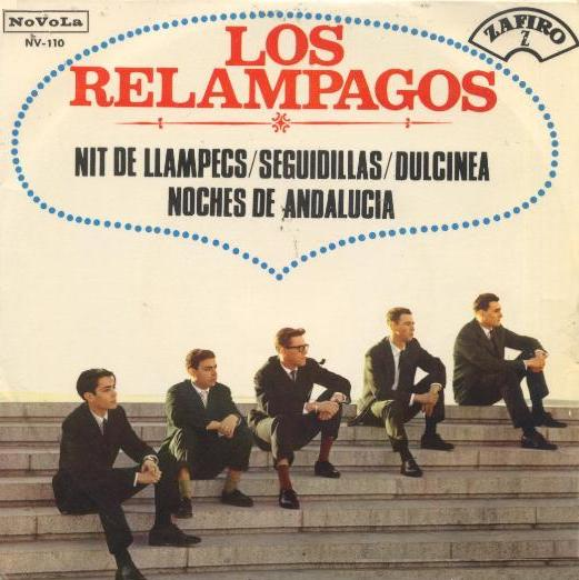 portada del disco Nit de Llampecs / Seguidillas / Dulcinea / Noches de Andalucía