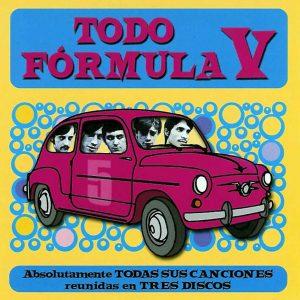 portada del disco Todo Fórmula V