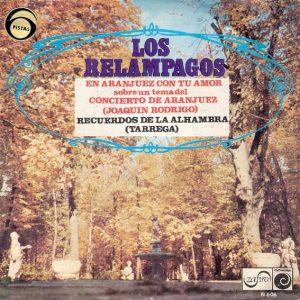 portada del disco En Aranjuez con tu Amor