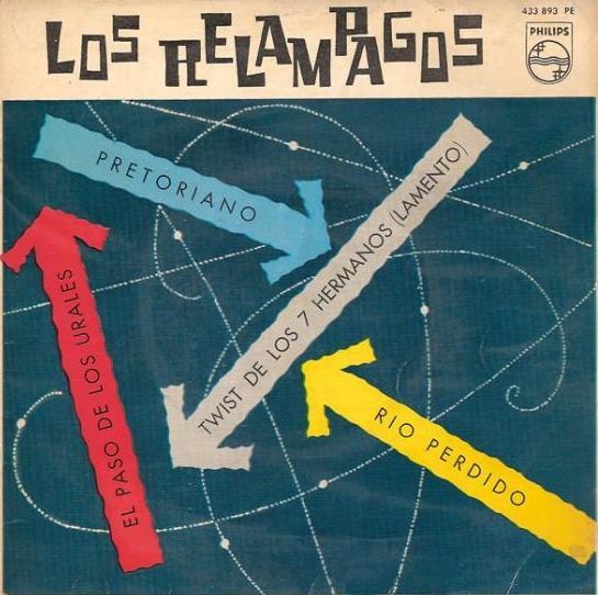 portada del disco Pretoriano / Twist de los 7 Hermanos / El Paso de los Urales / Río Perdido