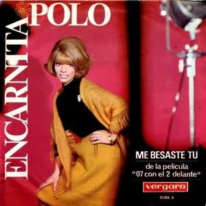 """portada del disco Me Besaste Tú. De la Película """"07 con el 2 Delante"""""""