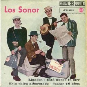 portada del disco Ligados / Esta Noche te Diré / Esta Chica Alborotada / Tienes 16 Años