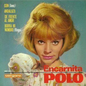 portada del disco Con / Andaluza / De Frente al Amor / Borra mi Nombre