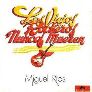 portada del disco Los Viejos Rockeros Nunca Mueren / Rockero de Noche