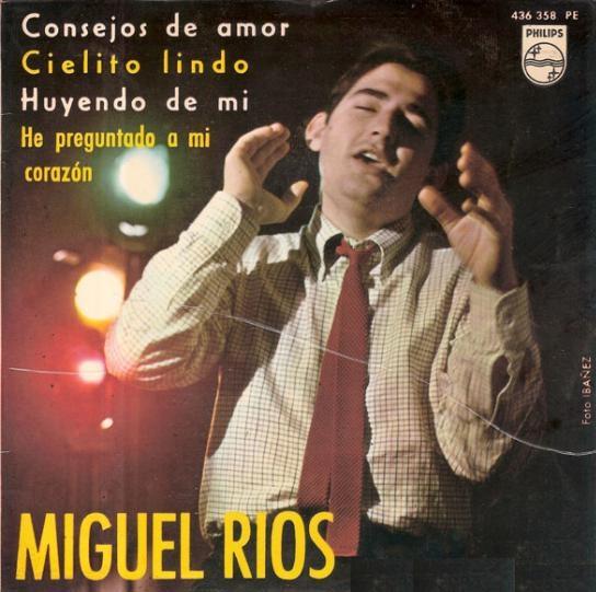 portada del disco Miguel Ríos