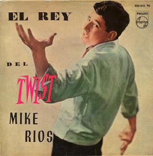 portada del disco El Rey del Twist