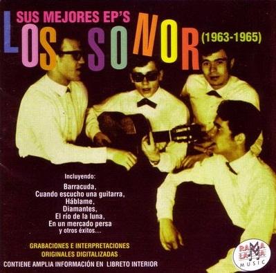 portada del disco Los Sonor. Sus Mejores EP's 63 - 65