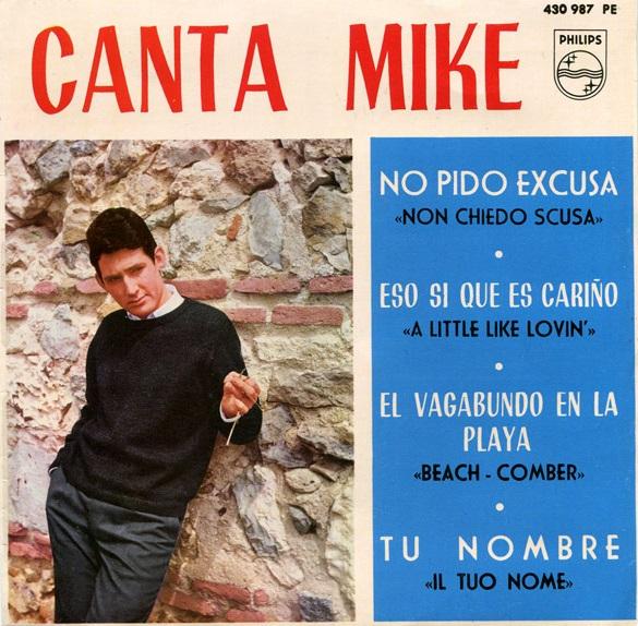 portada del disco Canta Mike