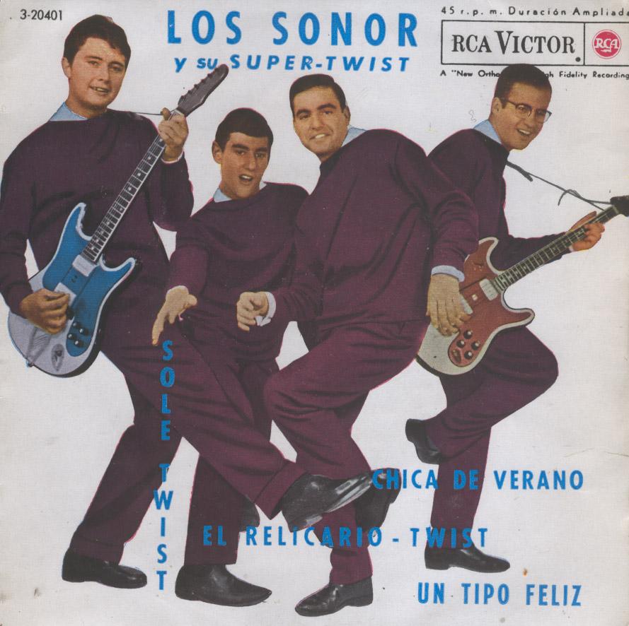 portada del disco Los Sonor y su Super-Twist