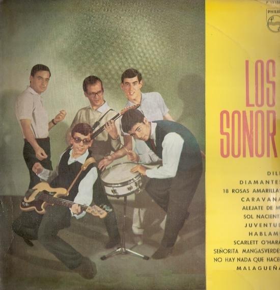 portada del disco Los Sonor