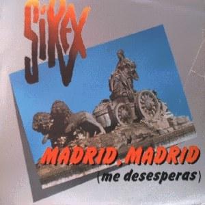 portada del disco Madrid, Madrid (Me Desesperas)