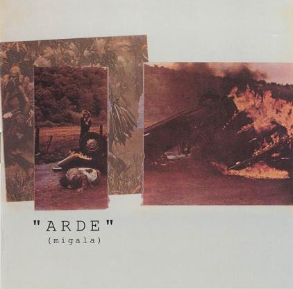 portada del album Arde