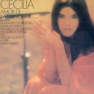 portada del disco Amor de Medianoche