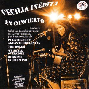portada del disco Cecilia Inédita en Concierto