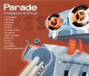 portada del disco Inteligencia Artificial