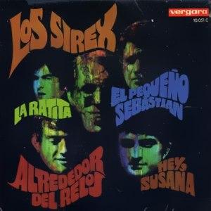 portada del disco La Ratita / Alrededor del Reloj / ¡Hey, Susana! / El Pequeño Sebastián
