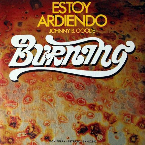 portada del album Estoy Ardiendo / Johnny B. Goode