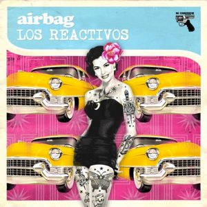 portada del disco Airbag vs. Los Reactivos
