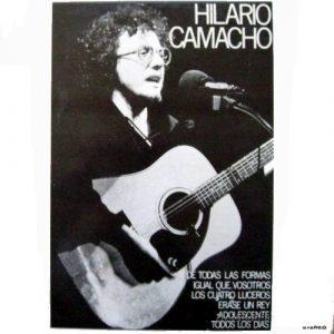 portada del disco Hilario Camacho