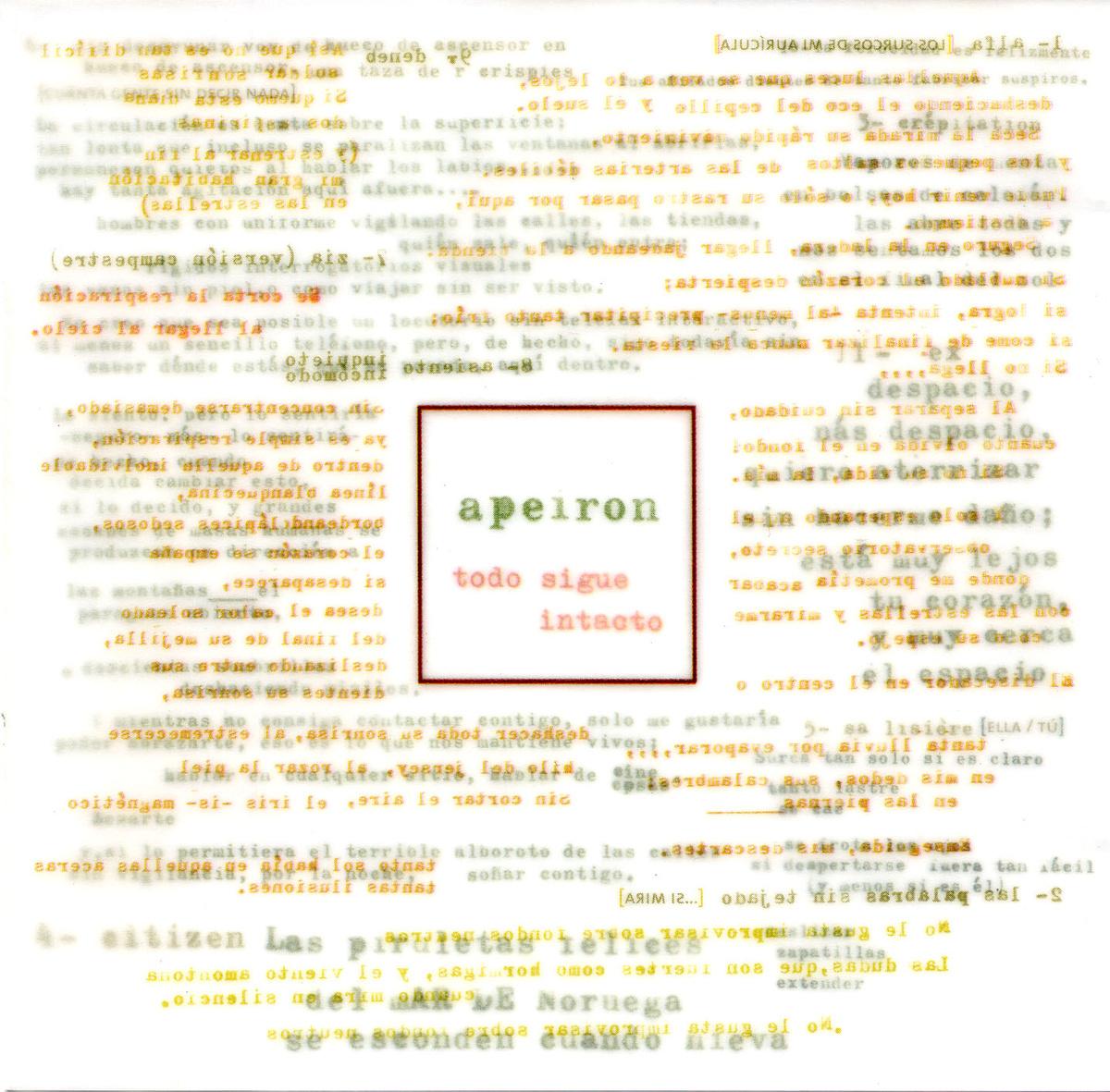 portada del album Todo Sigue Intacto