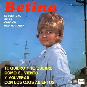 portada del disco IX Festival de la Canción Mediterránea