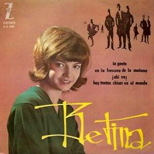 portada del disco La Gente / En la Frescura de la Mañana / ¡Ahí Va! / Hay Tantos Chicos en el Mundo