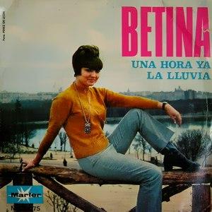 portada del disco Una Hora Ya / La Lluvia