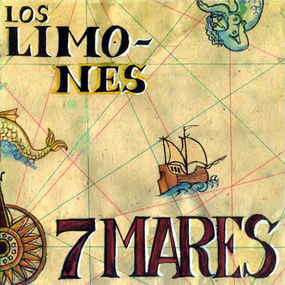 portada del disco 7 Mares