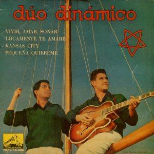 portada del disco Vivir, Amar, Soñar / Locamente te amaré / Kansas City / Pequeña, Quiéreme