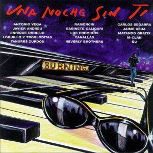 portada del disco Una Noche sin Ti