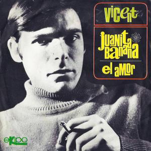 portada del disco Juanita Banana / El Amor