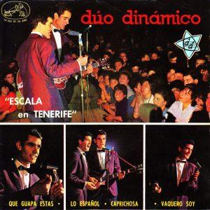portada del disco Escala en Tenerife