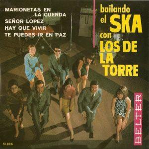 portada del disco Bailando el Ska con Los de la Torre