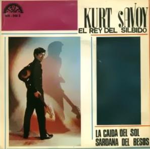 portada del disco La Caída del Sol / La Sardana del Besós