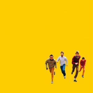portada del album Atletes, Baixin de l'Escenari