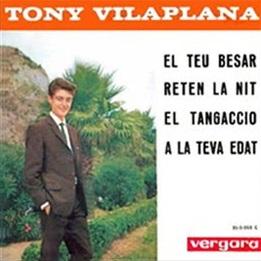 portada del disco El Teu Besar / Reten la Nit / El Tangaccio / A la Teva Edat