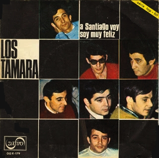 portada del disco A Santiago Voy / Soy Muy Feliz