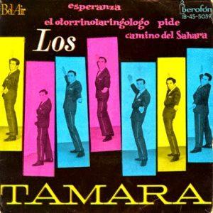 portada del disco Esperanza / El Otorrinolaringólogo / Camino del Sahara / Pide