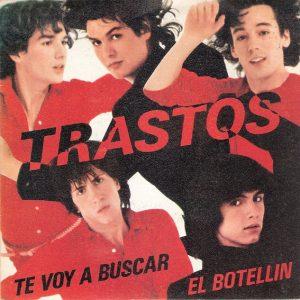 portada del disco Te Voy a Buscar / El Botellín