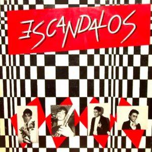 portada del disco Escándalos