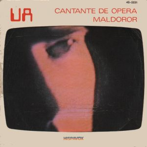 portada del disco Cantante de Ópera / Maldoror