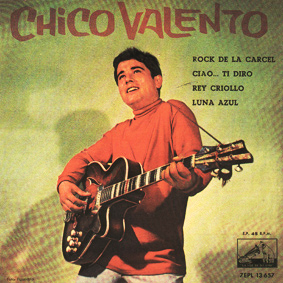 portada del disco Rock de la Cárcel / Ciao, ti Diro / Rey Criollo / Luna Azul