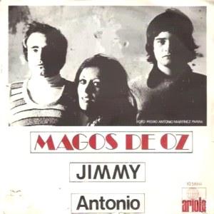 portada del disco Jimmy / Antonio