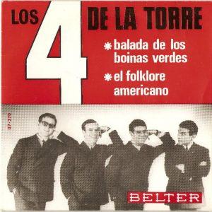 portada del disco La Balada de los Boinas Verdes / El Folklore Americano