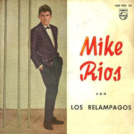 portada del disco Mike Ríos con los Relámpagos