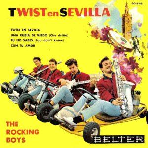 portada del disco Twist en Sevilla