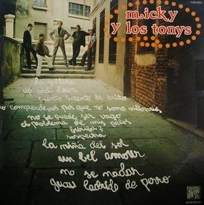 portada del disco Micky y Los Tonys