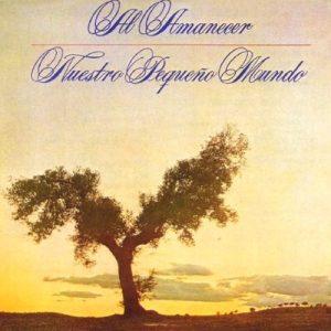 portada del disco Al Amanecer