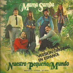 portada del disco Mama Samba