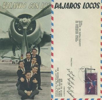 portada del disco Volando con Los Pájaros Locos